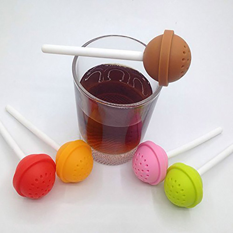 Lolipop tea infuser
