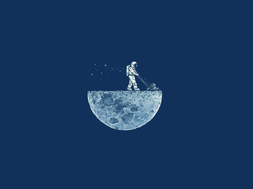 man-on-moon