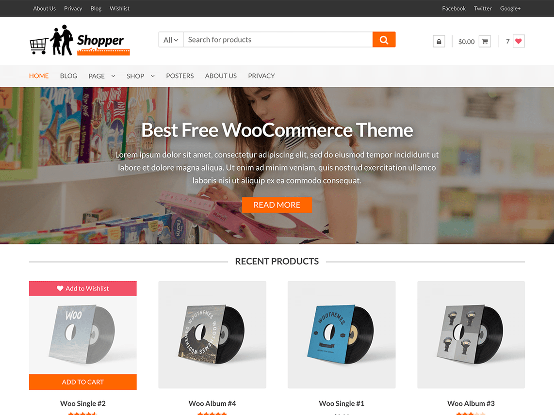 Shopper Theme