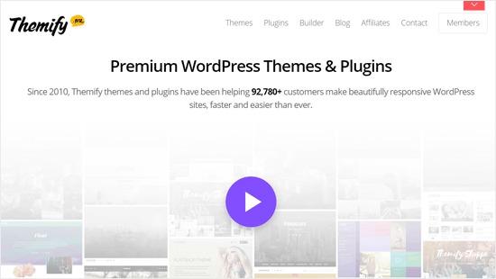 Themify - Successful WordPress theme and plugin Business