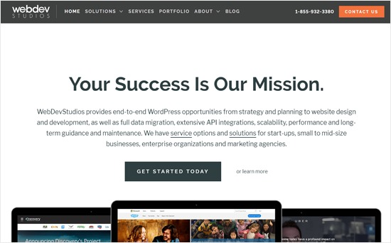Web Dev Studios - Design Company for WordPress
