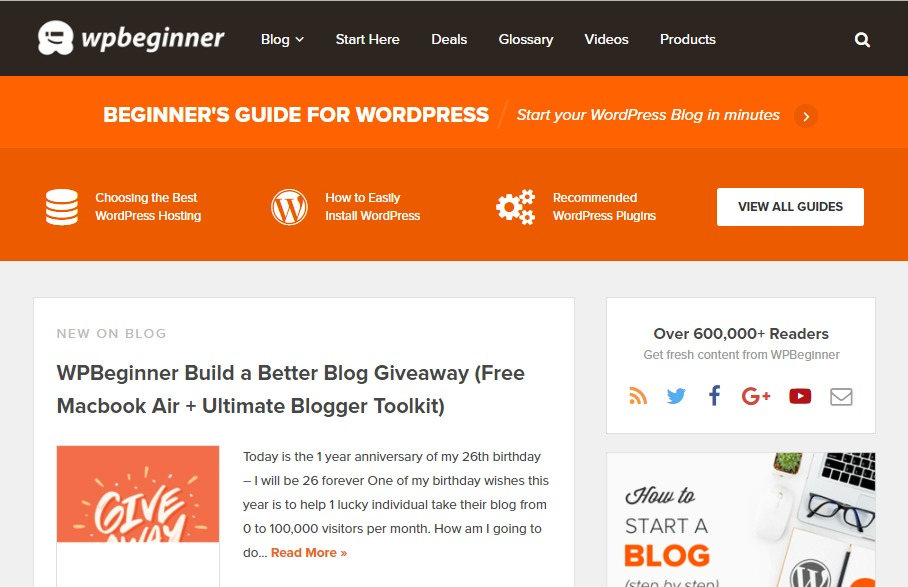 30+ Most Popular WordPress Blogs to Follow in 2019
