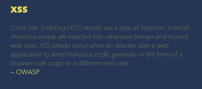 XSS definition