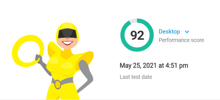 Hbird new version performance test score 92
