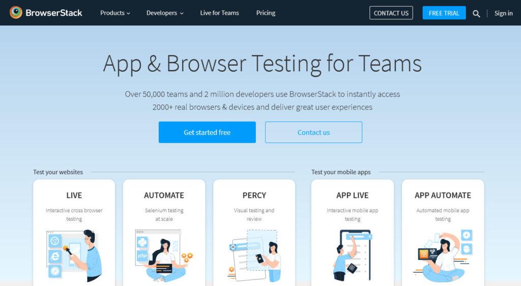 browserstack mobile testing tool