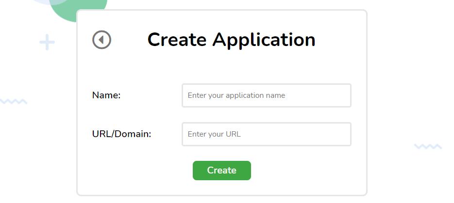 Creating an application.