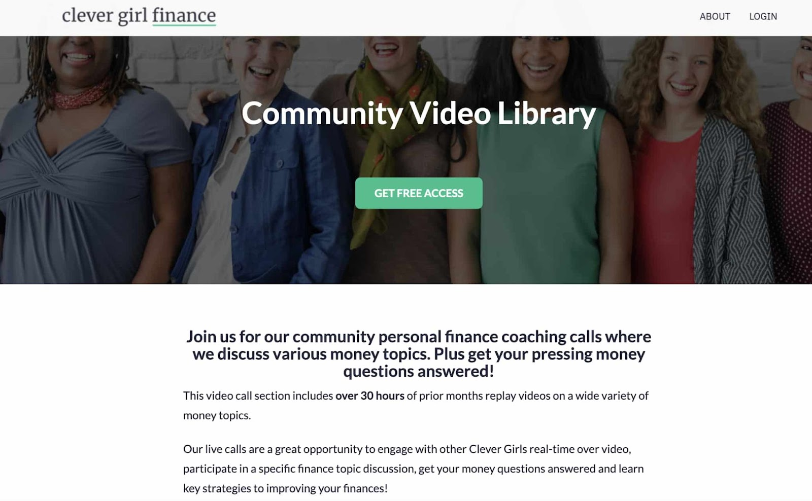 Clevel Girl Finance's resource library lead magnet