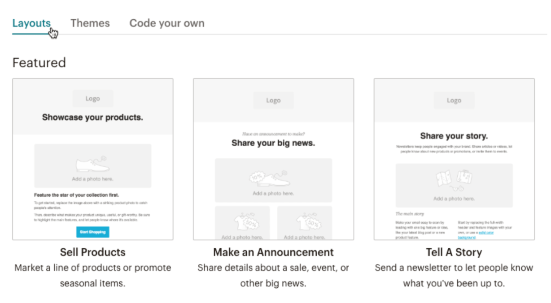 Newsletter Software Tools: MailChimp