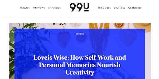 99u Blog
