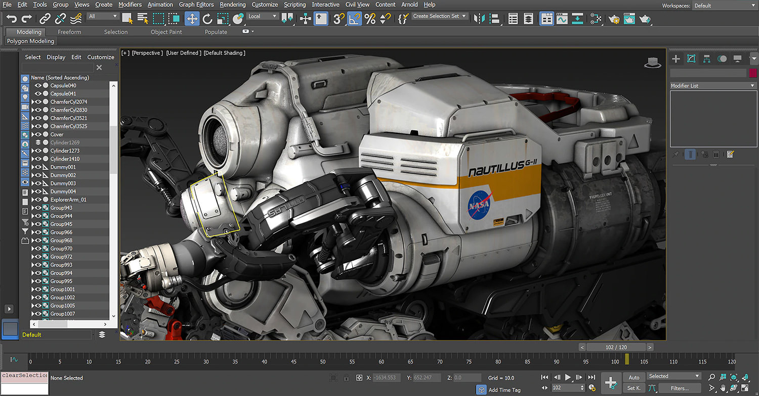 3DS MAX by Autodesk