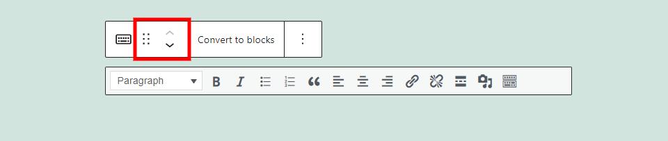 Classic Block Options
