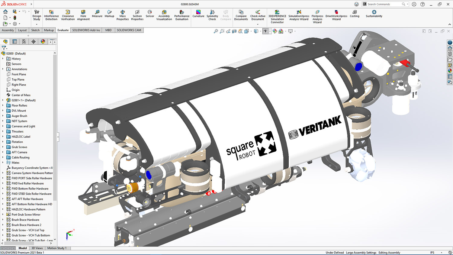 SolidWorks by Dassault Systemes