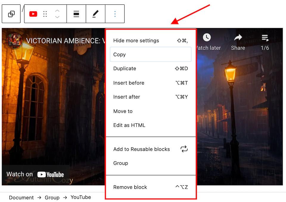 add video to wordpress