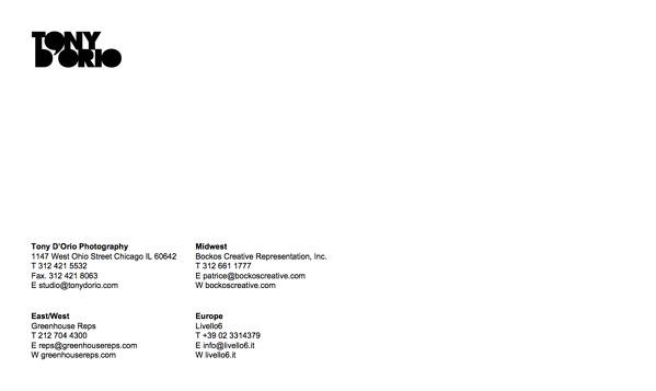 Tony D'Orio Business Card PDF