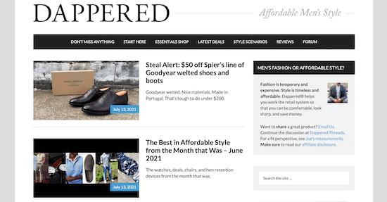 Dappered Blog