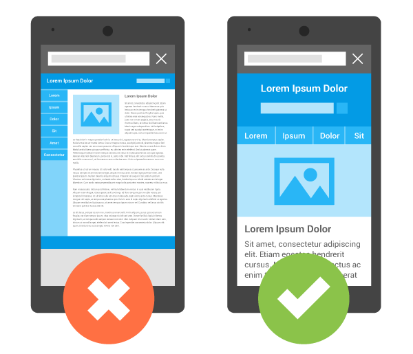 media queries guide: missing viewport meta tag example