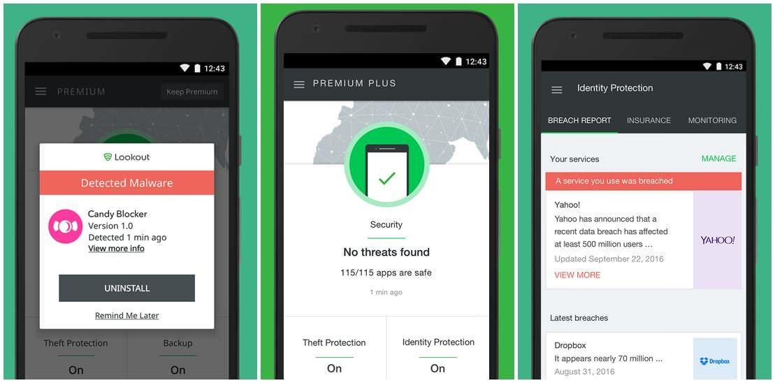 Lookout Security & Antivirus is a mobile security app