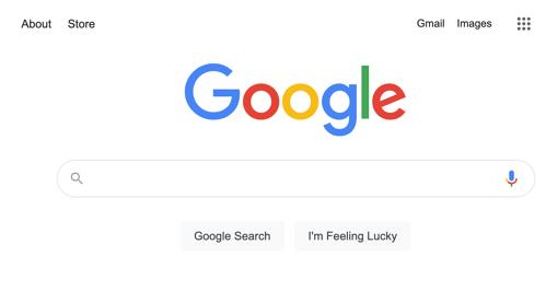 Site search google step 1: Go to google.com
