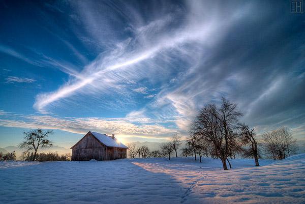winter dream on christmas eve