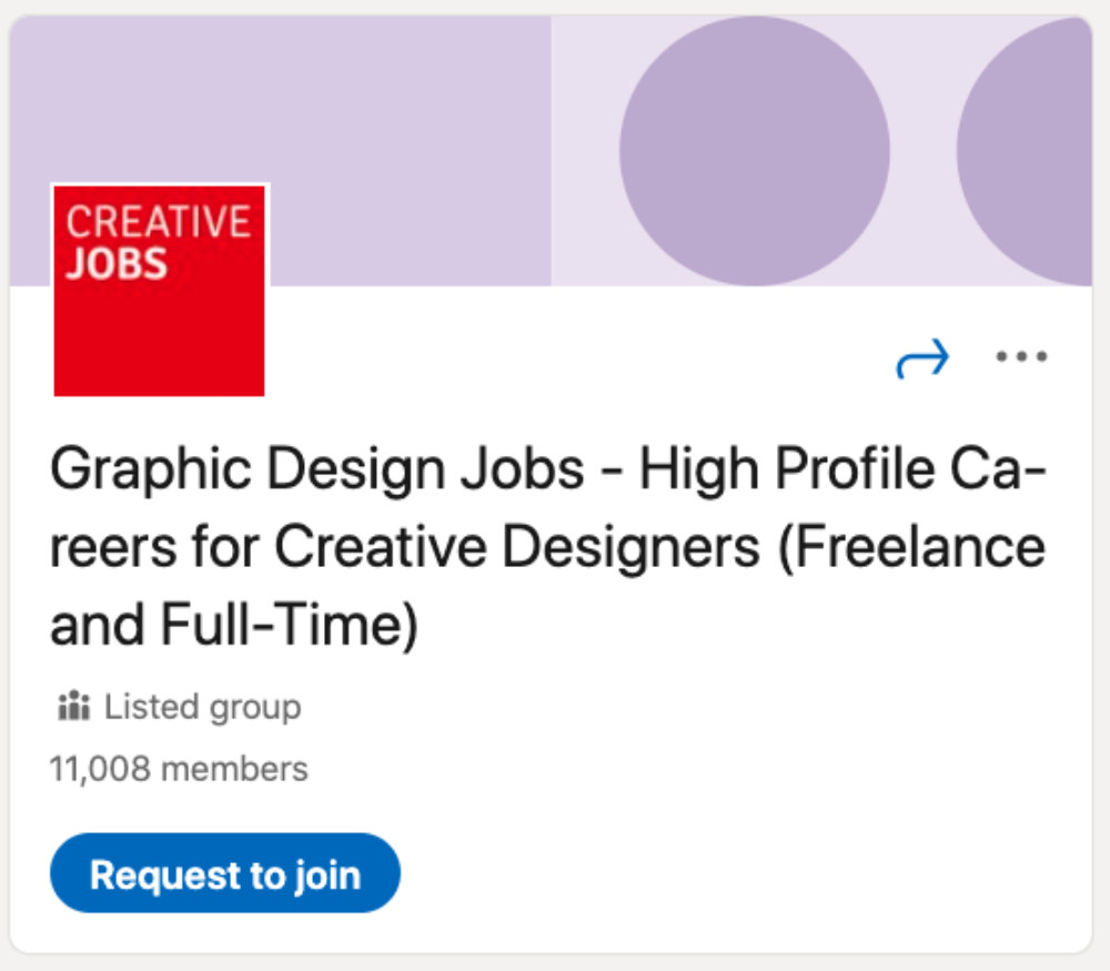 Graphic Design Jobs - High Profile Careers for Creative Designers (Freelance and Full-Time) LinkedIn Group for designers and developers