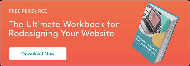 Blog - Website Redesign Workbook Guide [List-Based]