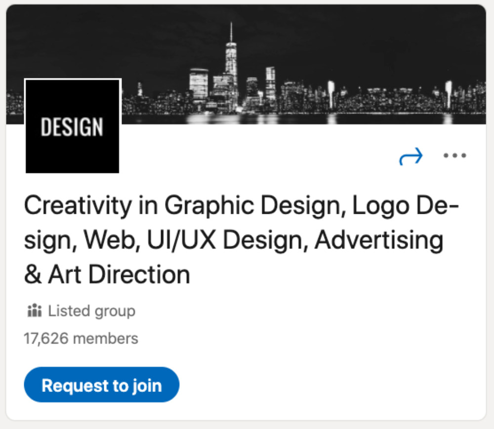Creativity in Graphic Design LinkedIn Group for designers and developers