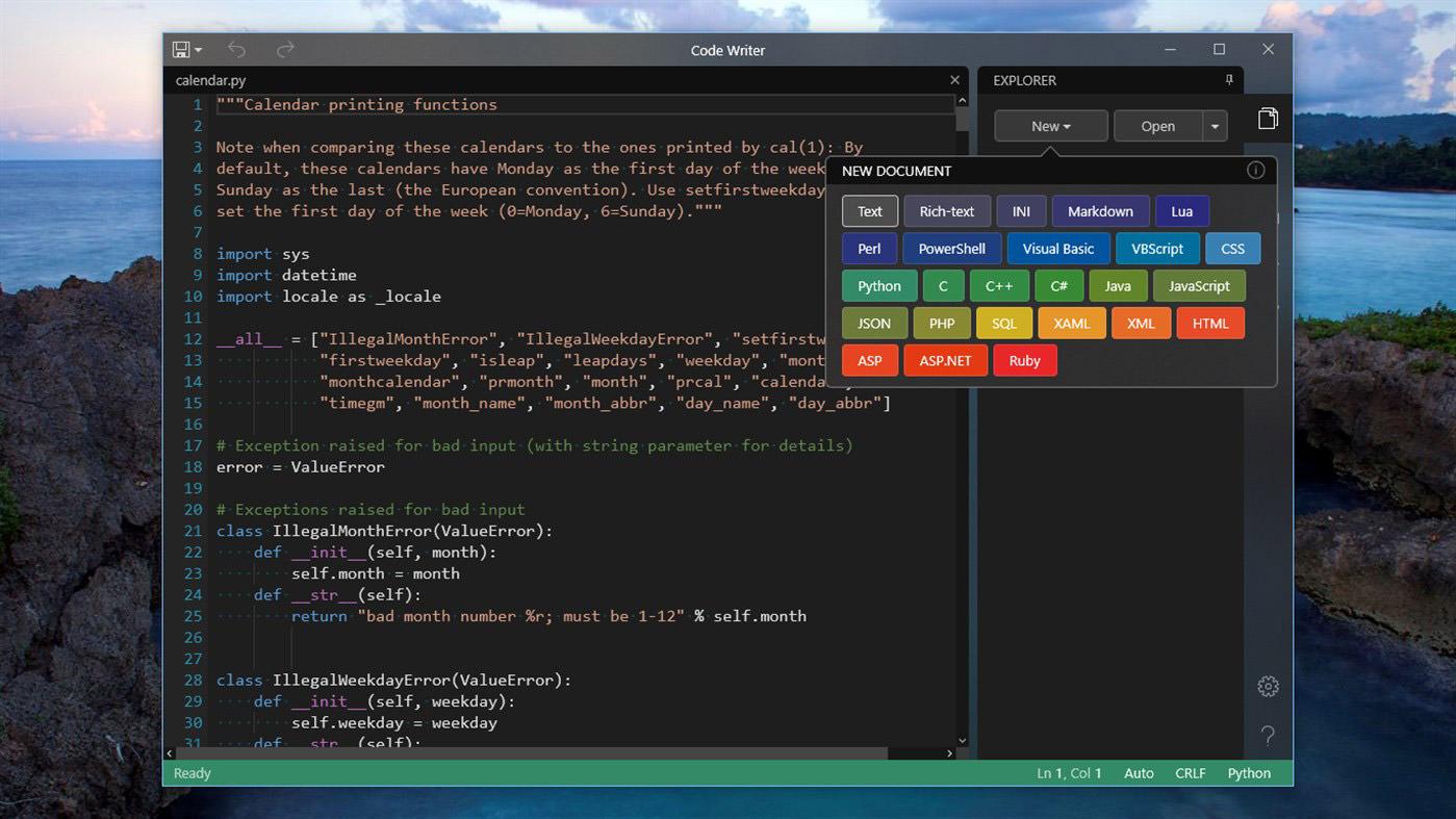 Code-Writer