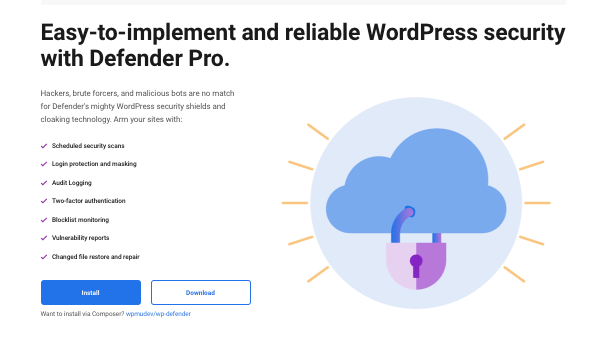 A look at Defender Pro our WordPress security plugin
