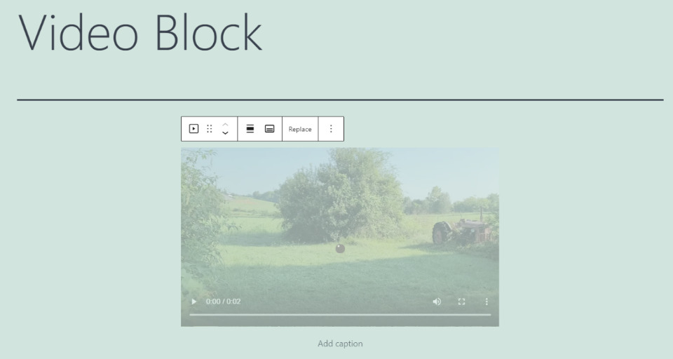 How to Add the Video Block to your Post or Page