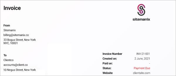 Client Billing - White Label
