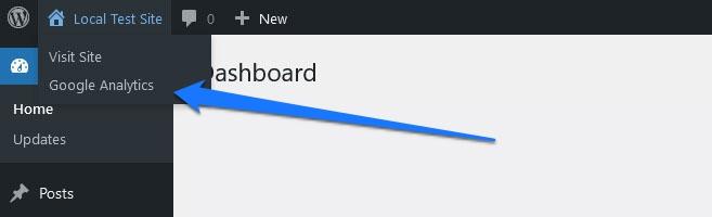 customize wordpress admin toolbar by adding submenu items