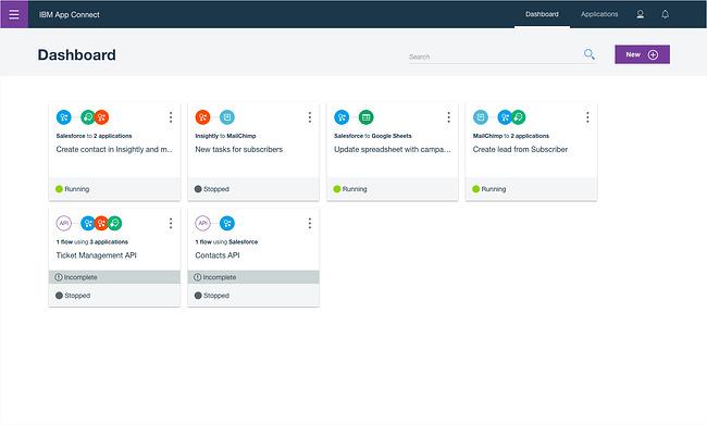 Cloud integration platform: IBM App Connect