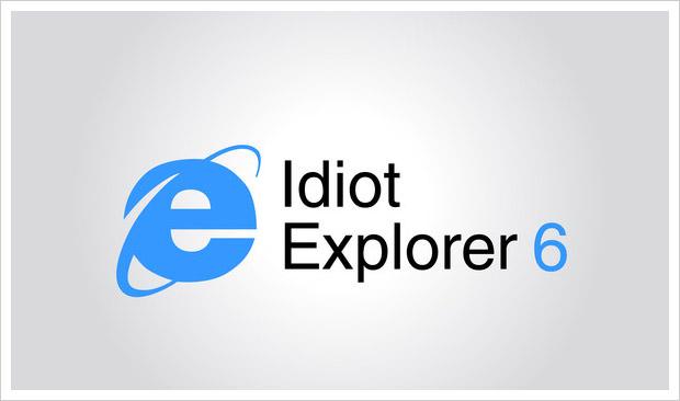ie6 - idiot explorer 6