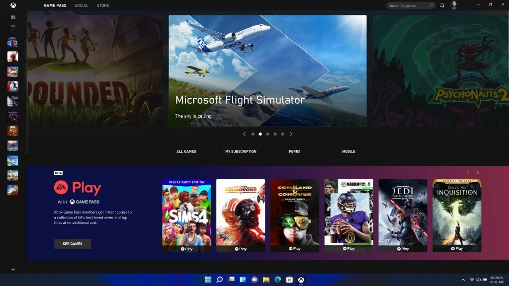 Improved gaming experience in Windows 11