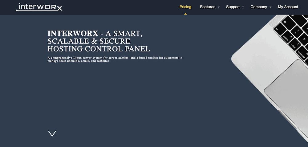The InterWorx website.