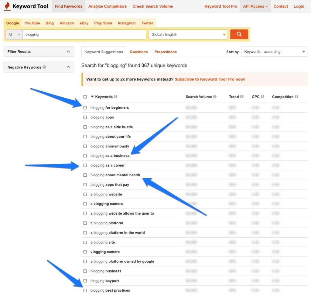 look for evergreen topics during keyword research
