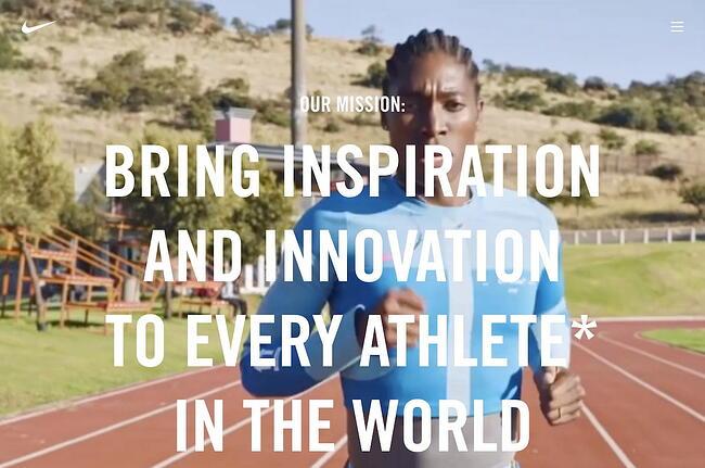 Company profile example: Nike
