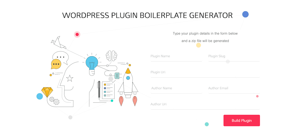 The WordPress Plugin Boilerplate Generator.