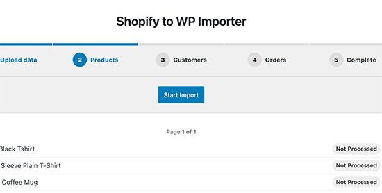 Importing Shopify products into WooCommerce