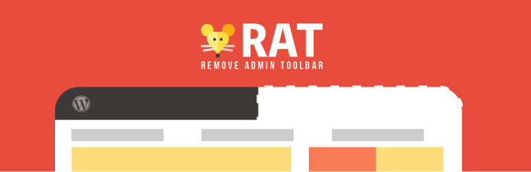 remove admin toolbar plugin