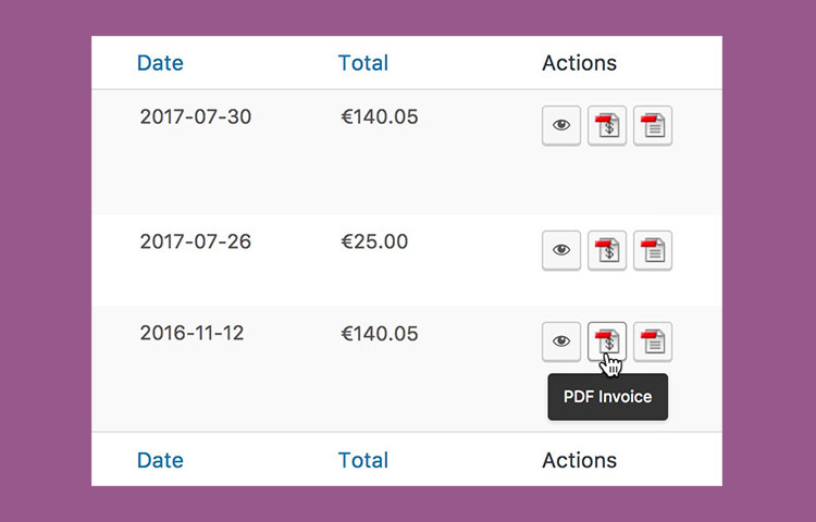 WooCommerce Invoice & Packging Slip