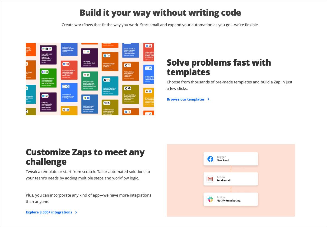 Zapier - automate your workflow