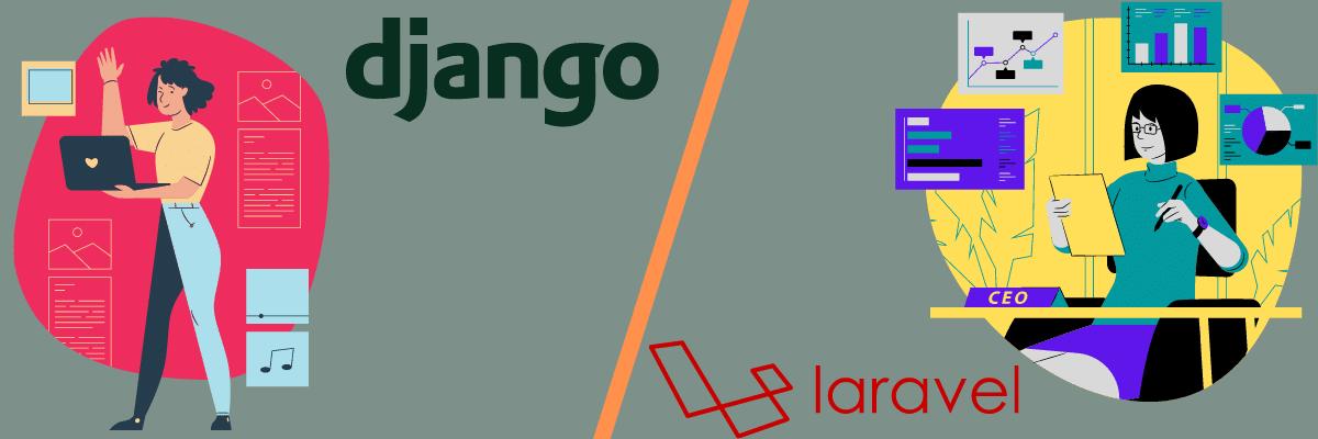 Comparing Django vs Laravel on learnability.