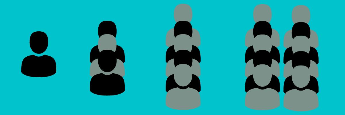 Illustration for scalability comparison of Laravel vs Django.