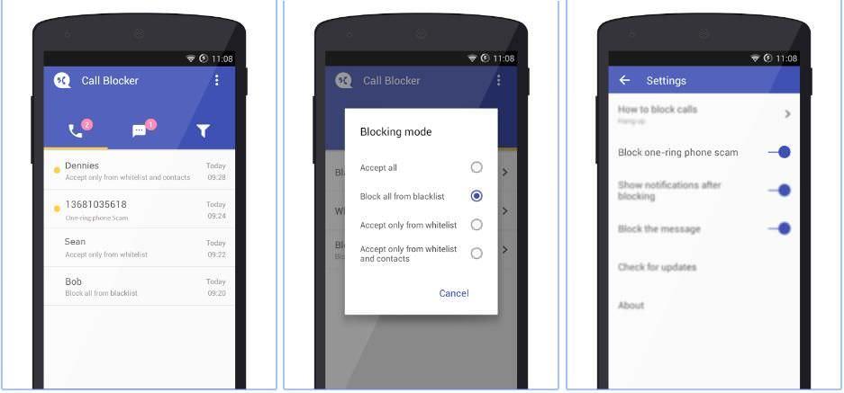 Call Blocker Free - Blacklist