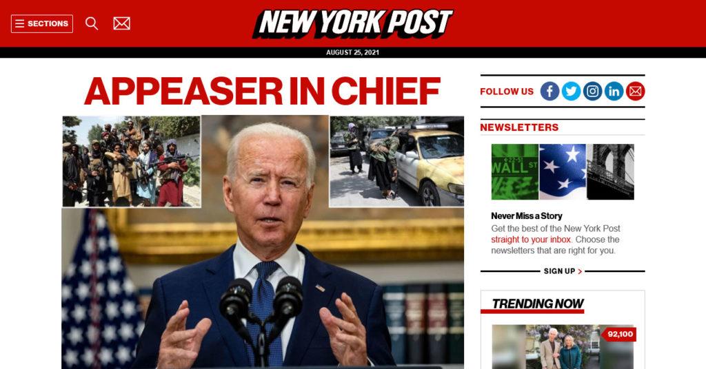 enterprise level wordpress websites example new york post