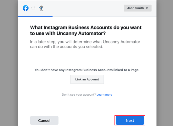 You Can Connect Uncanny Automator to an Instragram Business Account