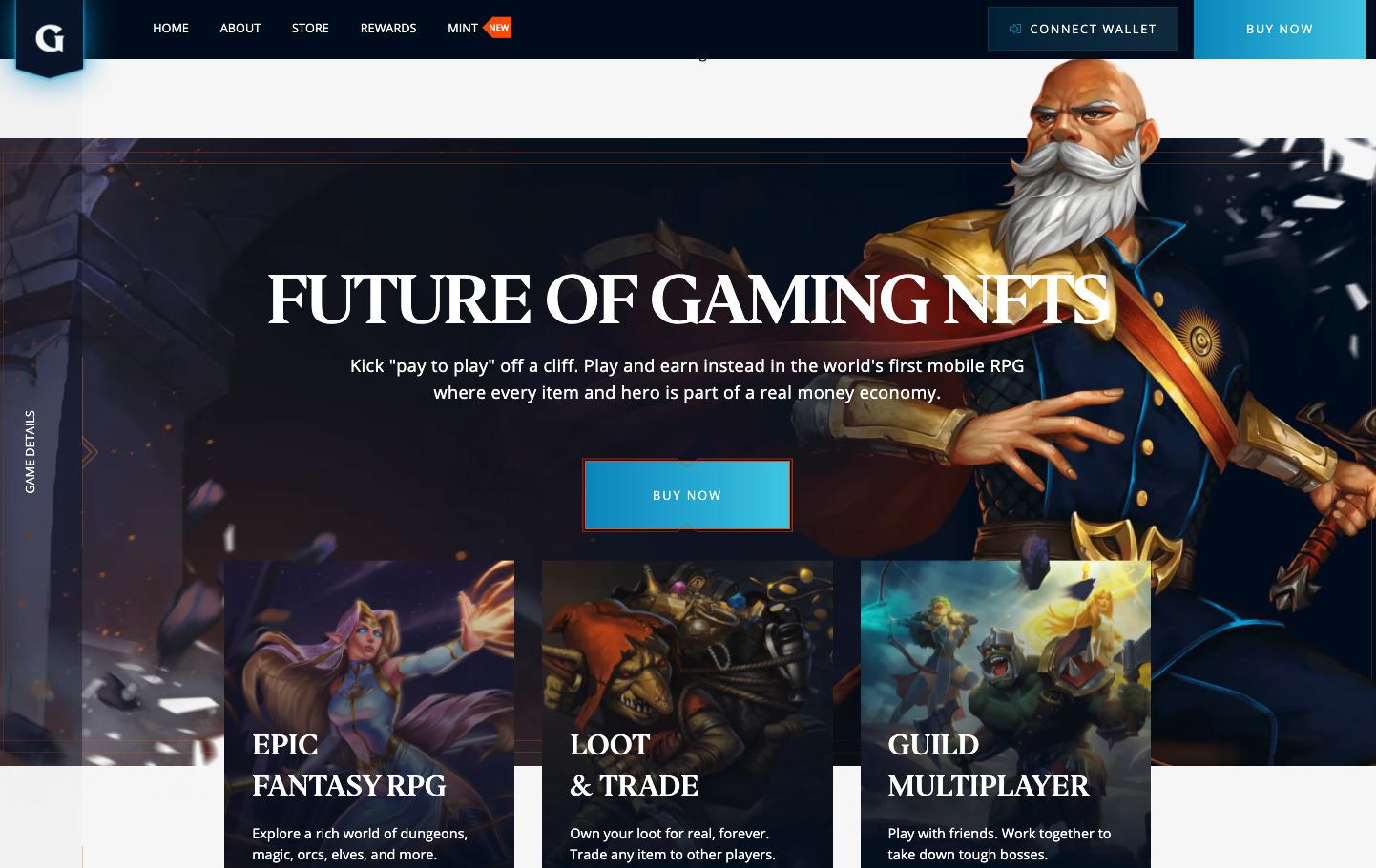 Best upcoming NFT games - Guild of Guardians Roadmap