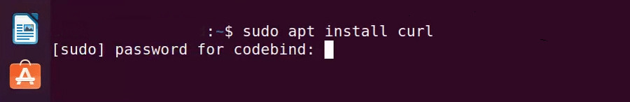 "Install ""curl"" on Ubuntu."