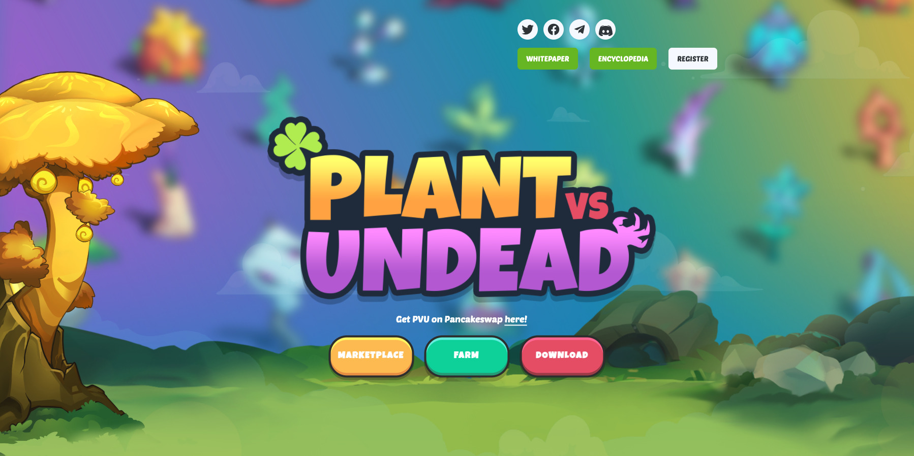 Best upcoming NFT games - Plants vs Undead